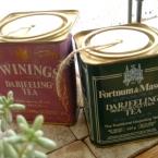 紅茶缶のひもホルダー