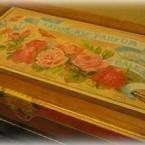 アンティークのサボンケース風BOX~素麵箱で・・・