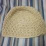 長編みでニット帽