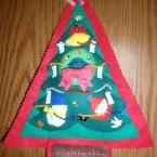 フェルトのクリスマスツリー