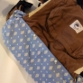 抱っこ紐収納カバー 50*50cmの布2枚で作れる