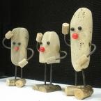 流木人形の作り方