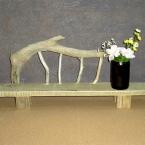 流木飾り台の作り方