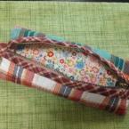 お気に入りの布でキルト布を作る方法(ペンケース)