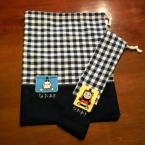 通園コップ袋&お箸袋