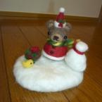 *クリスマスな置き物*
