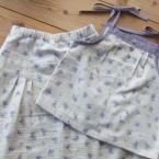 キャミソールとAラインスカート
