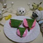 ちりがみ桜餅♪