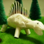 ちりがみエダフォサウルス♪