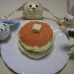 ちりがみホットケーキ♪