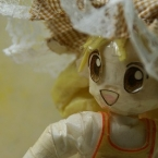 お人形の帽子♪