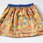 coccaの布で簡単スカート(ロック無しで出来る)