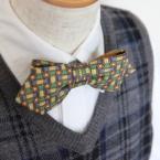 パパのネクタイを子供の蝶ネクタイにリメイク