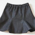 女の子用チューリップスカート