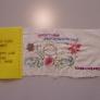 刺繍で描くツアーチケット