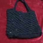 手編みの鞄
