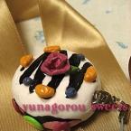 【紙ねんど】簡単スイーツ**|バラのケーキ|**