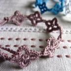 レース編み*お花ブレスレット