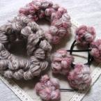 〇玉編みのヘアアクセサリー〇