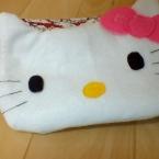 キティちゃんのフェイスポーチ