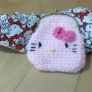 キティちゃんのがまぐち財布♡